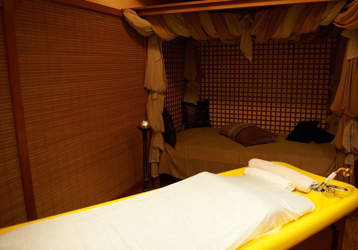 Καμπίνα για Μασάζ με Πουγκιά | Kurland Spa